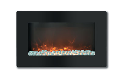 Electric Fireplaces-X30WMEF1BLK(BLT-999W-2-)ROCK