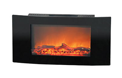 Electric Fireplaces-X35WMEF1BLK(BLT-999W-3-)LOG