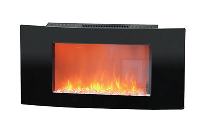 Electric Fireplaces-X35WMEF1BLK(BLT-999W-3-)ROCK