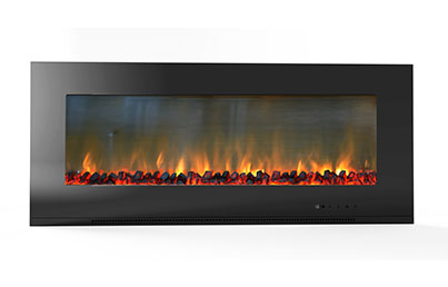 Electric Fireplaces-X56WMEF1BLK(BLT-999W-13-)LOG
