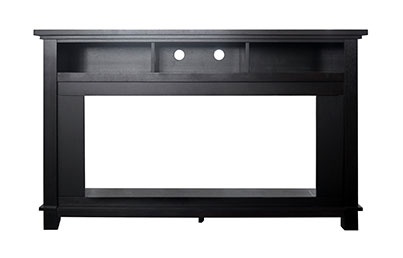 Large Electric Fireplace Mantels-X5735-1BLK