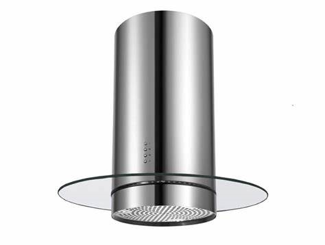 Island-Mount Range Hood Extraction, 35cm RHIM-1 EXT, Stainless Steel Finish, 35cm, 700m3/h,