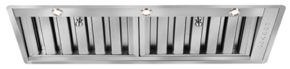 Under-Mount Extraction Range Hood, 75cm RHUM-1 EXT, Stainless Steel Finish, 75cm, 850m3/h,