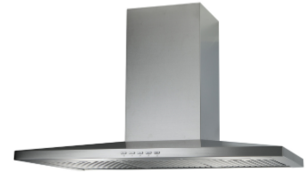 Low Canopy Range Hood Extraction, 90cm RHWM-1 EXT, Stainless Steel Finish, 90cm, 900 m3/h,