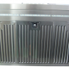 Wall-Mount Range Hood Extraction, 90cm RHWM-2 EXT, Stainless Steel Finish, 90cm, 900 m3/h,